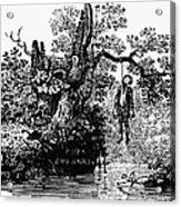 Bewick: Hanged Man Acrylic Print