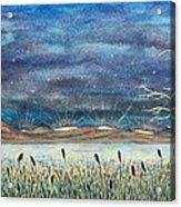 Beyond The Horizon Acrylic Print by Jeanette Stewart