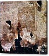 Beyond The Tattered Curtain Acrylic Print by Kevyn Bashore