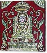 Bhagwan Mahaveer Acrylic Print