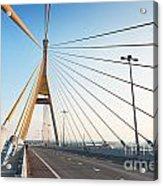 Bhumipol Bridge Acrylic Print