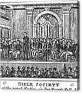 Bible Societies Acrylic Print