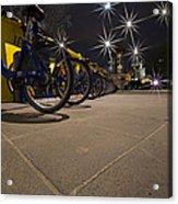 Bicycle Lane Acrylic Print