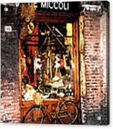 Bicycle Acrylic Print by Marshall Swerman