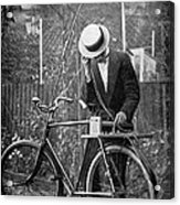 Bicycle Radio Antenna, 1914 Acrylic Print