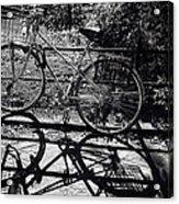 Bicycle Shadow 1 Acrylic Print