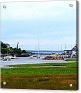 Biddleford Pool In Maine Acrylic Print