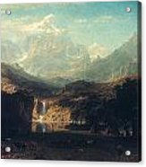 Bierstadt: Rockies Acrylic Print