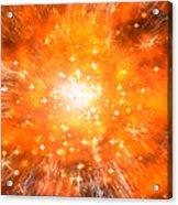 Big Bang Acrylic Print