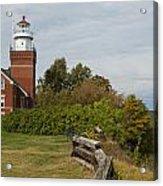 Big Bay Point Lighthouse 1 Acrylic Print