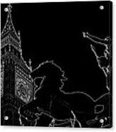 Big Ben And Boudica Acrylic Print