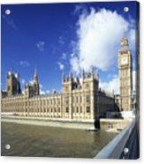 Big Ben And Houses Of Parliament, London, Uk Acrylic Print