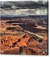 Big Bend In The Colorado Acrylic Print