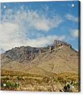 Big Bend Splendor Acrylic Print