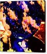Big Blue Globe Thingee Acrylic Print