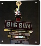 Big Boy At The Top Acrylic Print