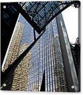 Big City Reflections Acrylic Print