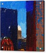 Big City Acrylic Print