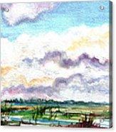 Big Clouds Acrylic Print