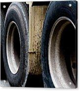 Big Fat Tires Acrylic Print