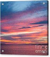 Big Florida Sunset Acrylic Print