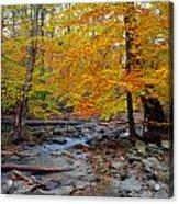 Big Hunting Creek Down Stream From Cunningham Falls Acrylic Print