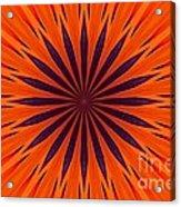Big Orange Acrylic Print