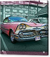 Big Pink Dodge Acrylic Print