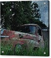 Big Red Lie For Dead Acrylic Print