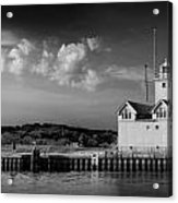 Big Red Lighthouse In Holland Michigan Acrylic Print