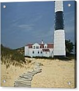Big Sable Lighthouse In Ludington Michigan Number 3 Acrylic Print