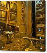 Big Ship Cityscape  Acrylic Print