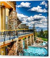 Big Sky Ski Resort Montana Acrylic Print