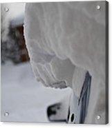 Big Snowfall Acrylic Print
