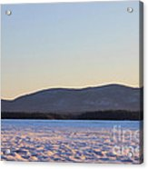 Big Squam Cold Acrylic Print
