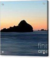 Big Sur Sunset 2 Acrylic Print