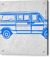 Big Van Acrylic Print by Naxart Studio