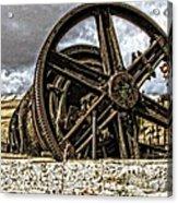 Big Wheels Acrylic Print