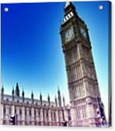 #bigben #uk #england #london2012 Acrylic Print by Abdelrahman Alawwad