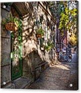 Bike - Ny - Greenwich Village - The Green District Acrylic Print