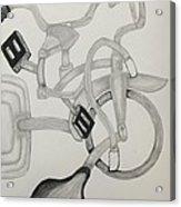 Bike Mania Acrylic Print