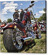 Biker Style Acrylic Print by Peter Chilelli