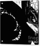 Bikers View Acrylic Print by Steven Milner