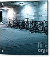 Bikes Acrylic Print by Igor Kislev