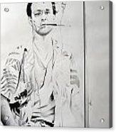 Bill Murray From The Movie 'where The Buffalo Roam' Acrylic Print