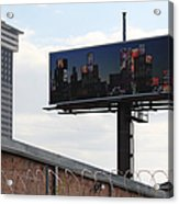 Billboard Art Project 2011 Acrylic Print