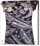 Billfish Ladies Shirt Acrylic Print
