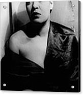 Billie Holiday, Portrait By Carl Van Acrylic Print