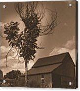 Bills' Barn Acrylic Print