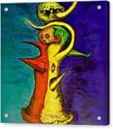 Biohazard  Voodoo Acrylic Print